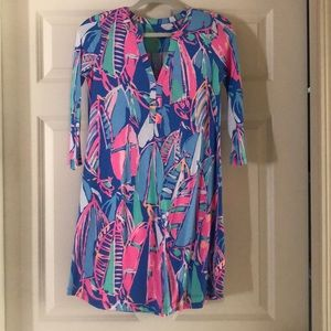 Lilly Pulitzer cotton dress. Out to sea.